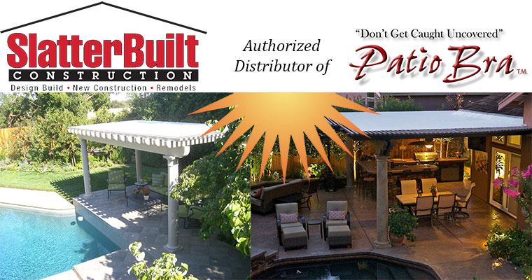 SlatterBuilt Construction is an Authorized Dealer of Patio Bra